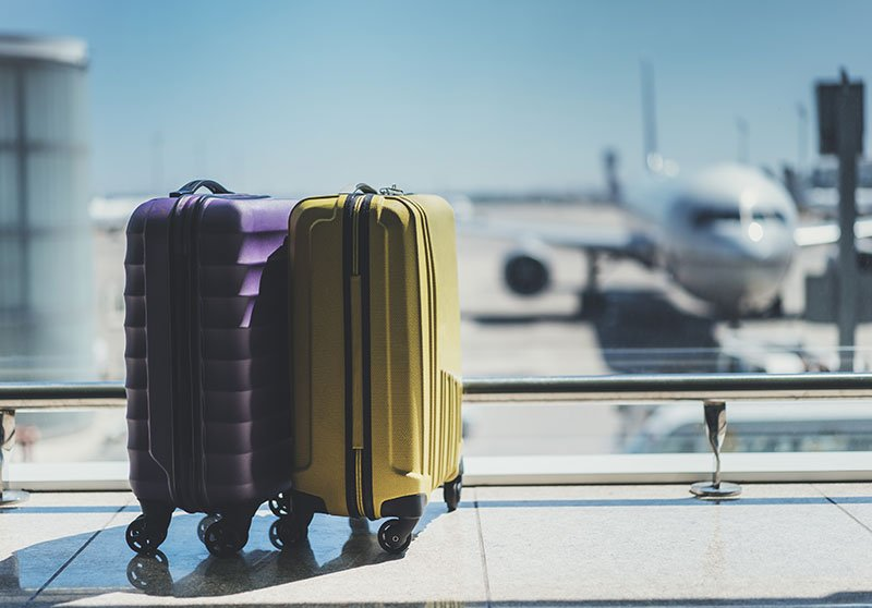 car hire rentals airport luggage