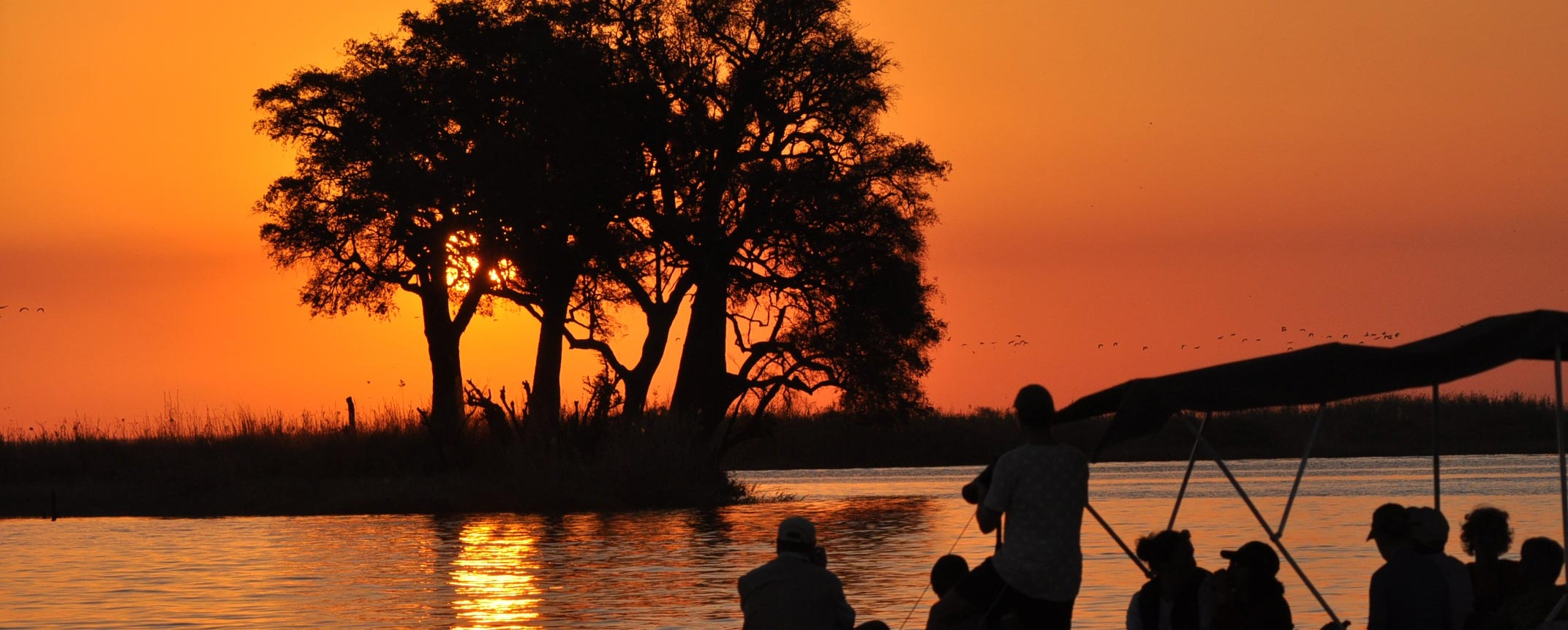 car hire rentals botswana sunset