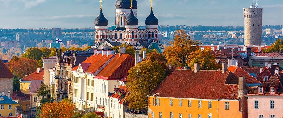 car hire rentals Estonia city temple