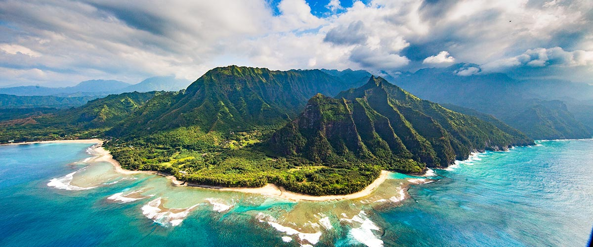 car hire rentals Hawaii mountains and beach