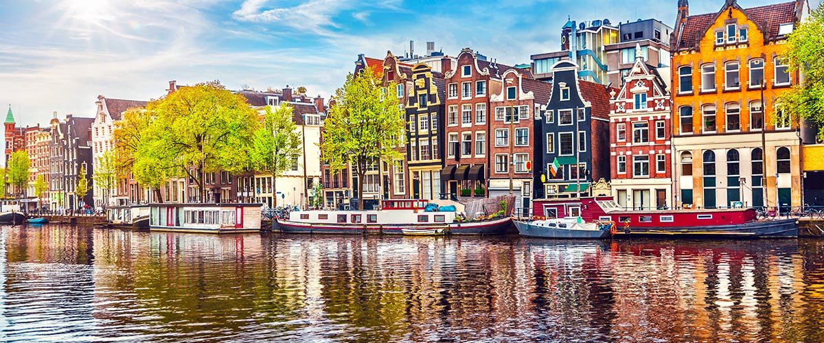 car hire rentals Netherlands city river