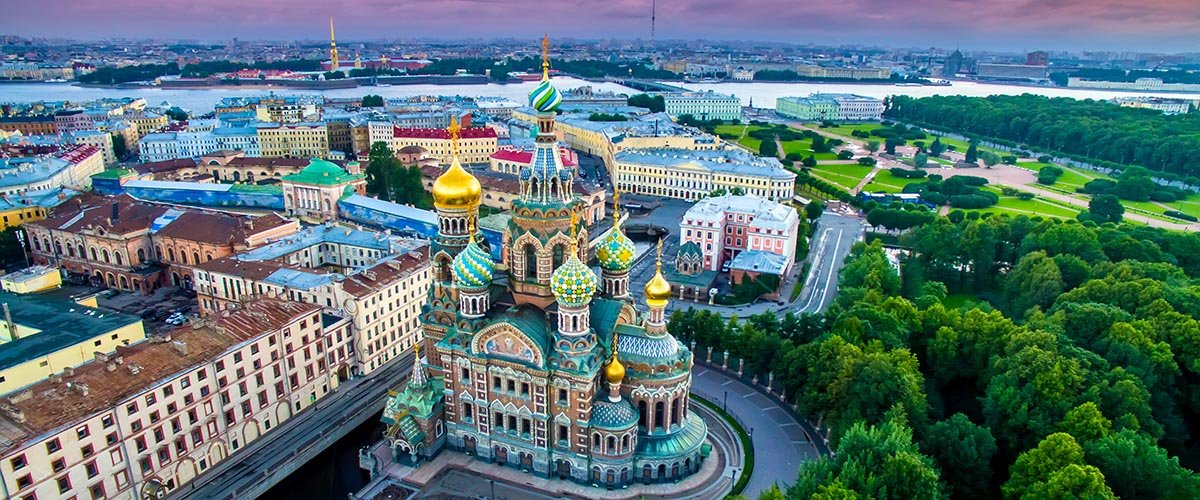 car hire rentals Russia from the air