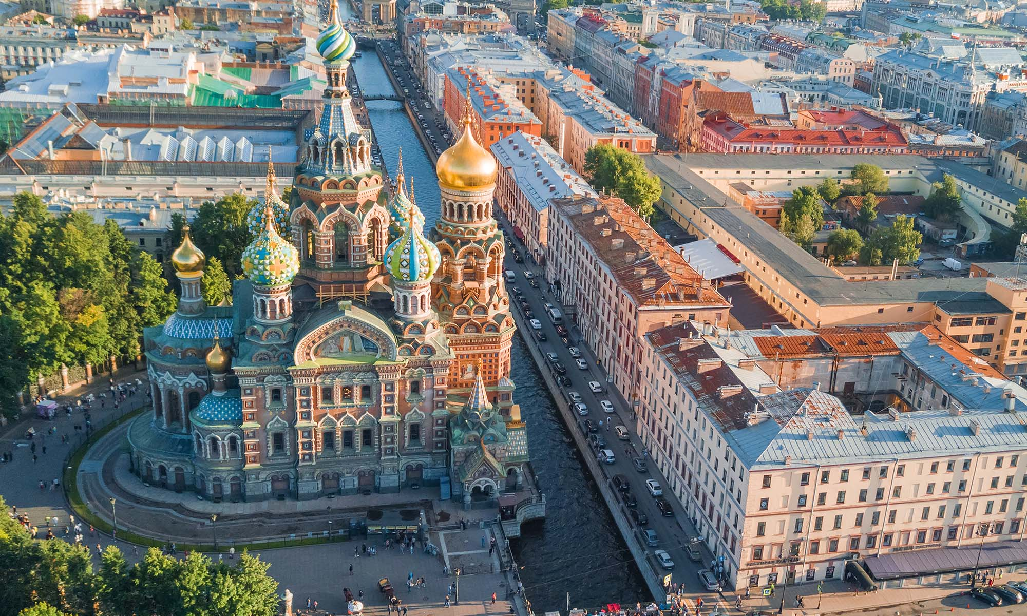 car hire rentals Russia city from the air
