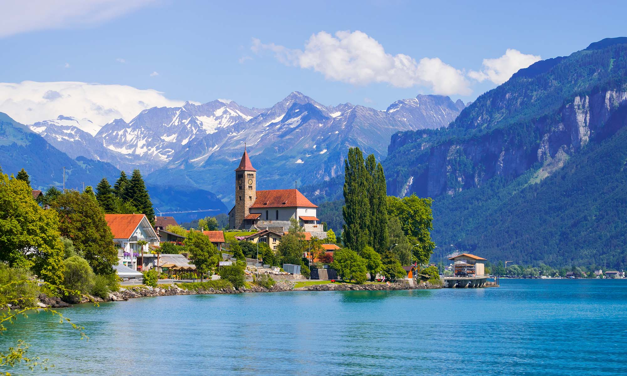 car hire rentals Switzerland lake