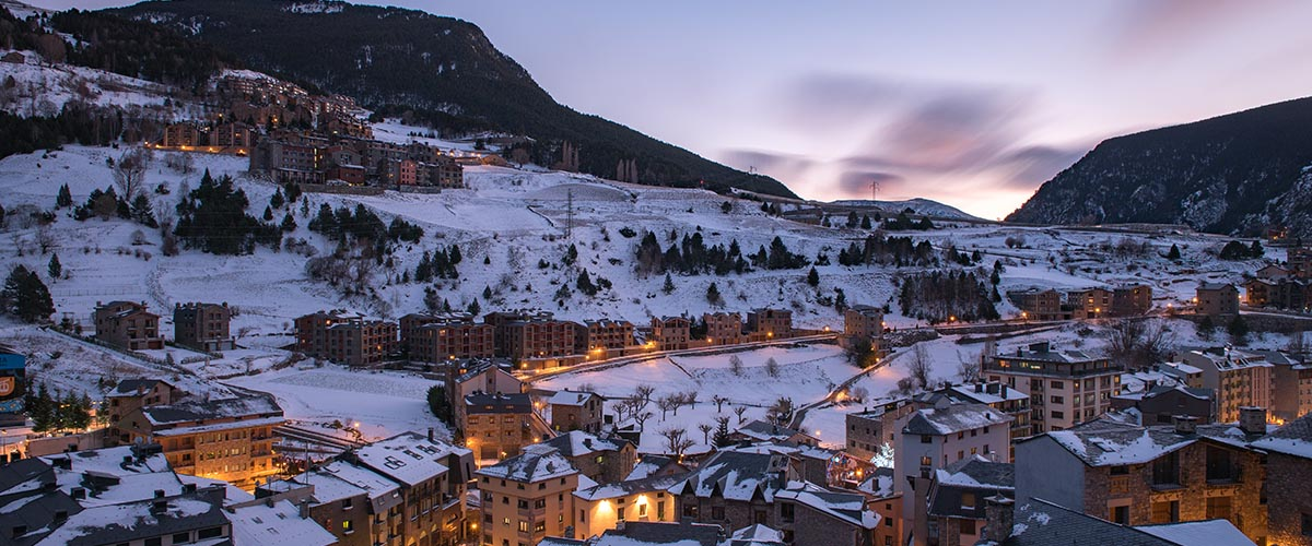 car hire rentals andorra snow