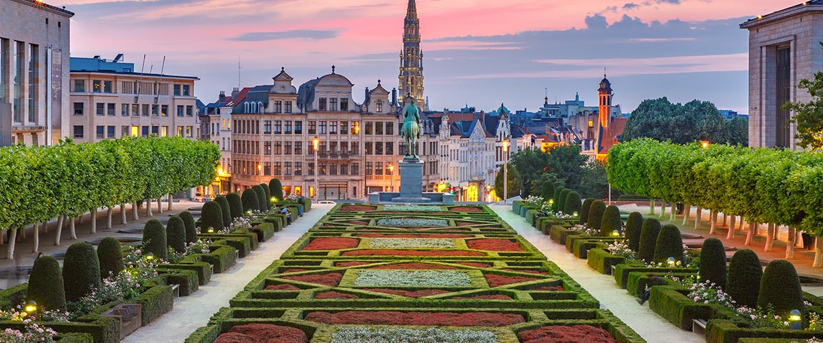 car hire rentals belgium city gardens